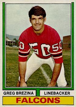 1974 Topps #291 Greg Brezina
