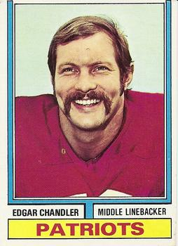1974 Topps #299 Edgar Chandler