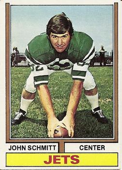 1974 Topps #363 John Schmitt