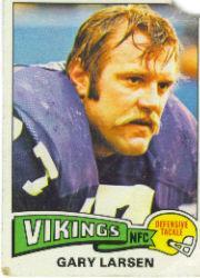 1975 Topps #26 Gary Larsen RC