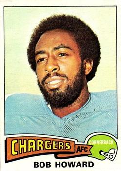 1975 Topps #37 Bob Howard
