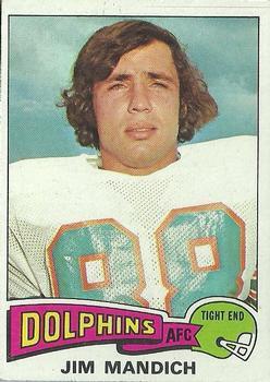 1975 Topps #48 Jim Mandich RC