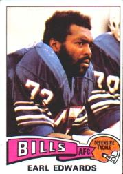 1975 Topps #86 Earl Edwards RC