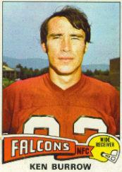 1975 Topps #105 Ken Burrow