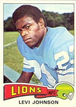 1975 Topps #119 Levi Johnson