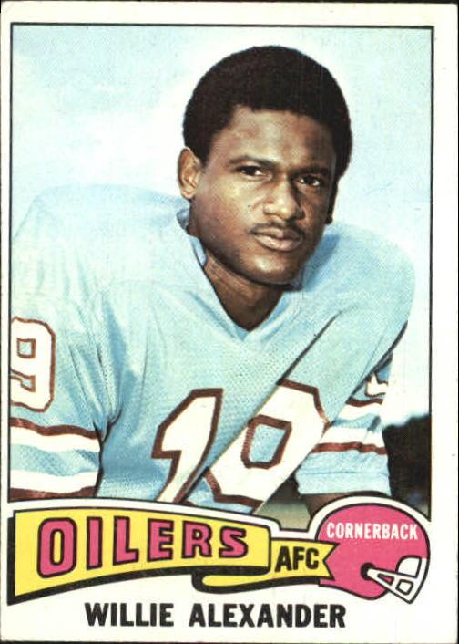 1975 Topps #139 Willie Alexander
