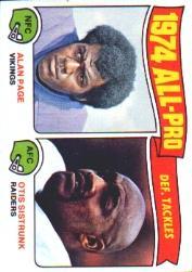 1975 Topps #214 All Pro Tackles/Alan Page/Otis Sistrunk