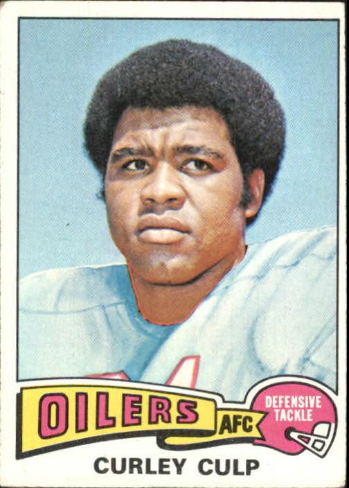 1975 Topps #297 Curley Culp