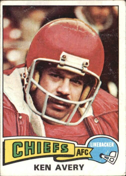 1975 Topps #306 Ken Avery