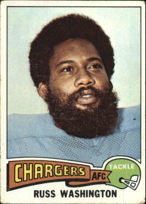 1975 Topps #335 Russ Washington