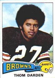 1975 Topps #342 Thom Darden