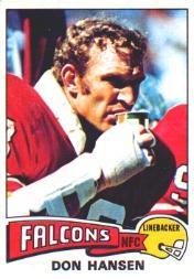 1975 Topps #384 Don Hansen