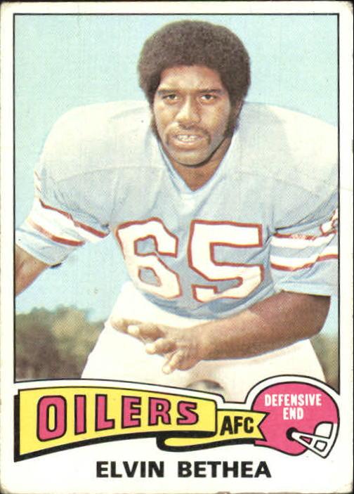 1975 Topps #385 Elvin Bethea