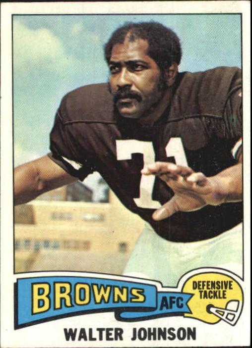 1975 Topps #463 Walter Johnson