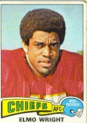 1975 Topps #513 Elmo Wright