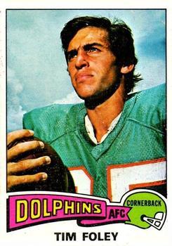 1975 Topps #521 Tim Foley