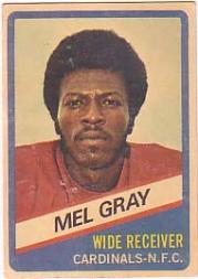 1976 Wonder Bread #4 Mel Gray