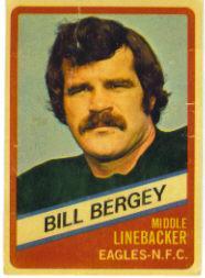 1976 Wonder Bread #17 Bill Bergey