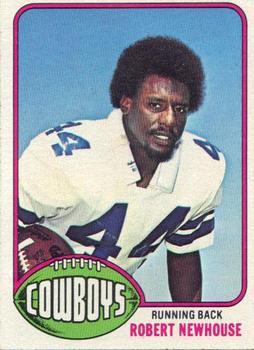 1976 Topps #14 Robert Newhouse RC