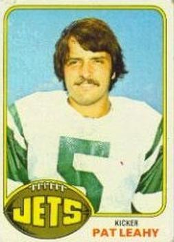 1976 Topps #34 Pat Leahy RC
