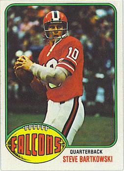 1976 Topps #35 Steve Bartkowski RC