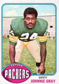 1976 Topps #41 Johnnie Gray RC