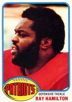 1976 Topps #47 Ray Hamilton RC