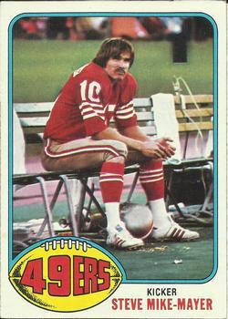 1976 Topps #58 Steve Mike-Mayer RC