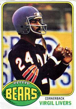 1976 Topps #59 Virgil Livers RC