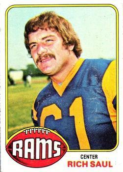1976 Topps #77 Rich Saul RC