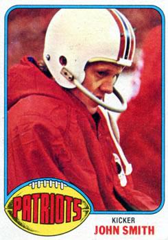 1976 Topps #78 John Smith RC
