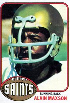 1976 Topps #83 Alvin Maxson RC