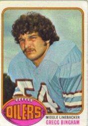 1976 Topps #103 Gregg Bingham RC