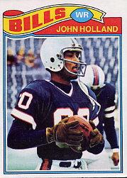 1977 Topps #17 John Holland RC
