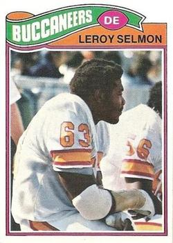 1977 Topps #29 Lee Roy Selmon RC UER/Misspelled Leroy