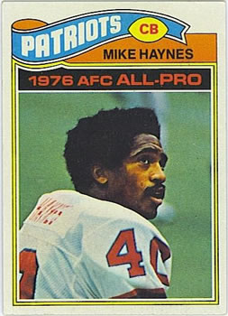 1977 Topps #50 Mike Haynes RC