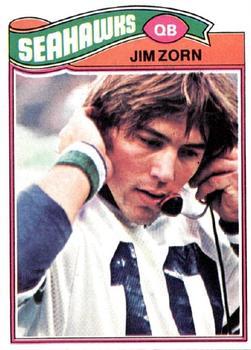 1977 Topps #65 Jim Zorn RC