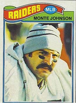 1977 Topps #77 Monte Johnson RC