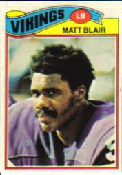 1977 Topps #84 Matt Blair RC