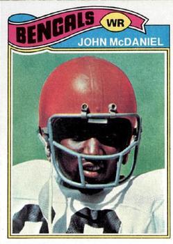 1977 Topps #89 John McDaniel RC