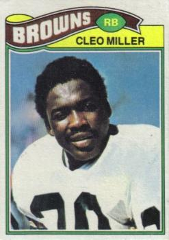 1977 Topps #92 Cleo Miller RC