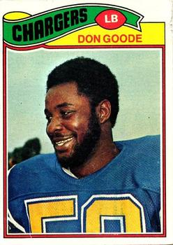 1977 Topps #97 Don Goode RC