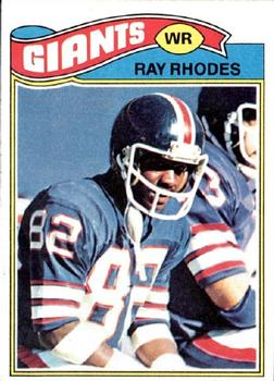 1977 Topps #98 Ray Rhodes RC