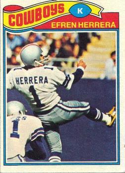 1977 Topps #102 Efren Herrera RC
