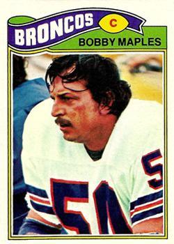1977 Topps #143 Bobby Maples
