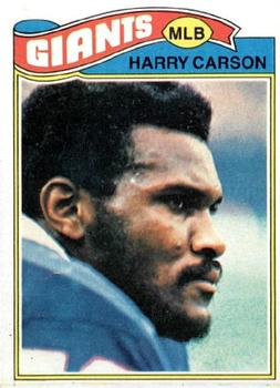 1977 Topps #146 Harry Carson RC