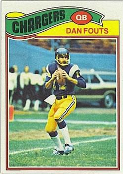 1977 Topps #274 Dan Fouts