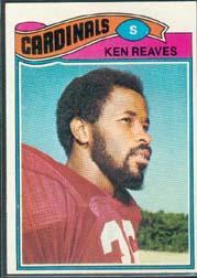 1977 Topps #461 Ken Reaves