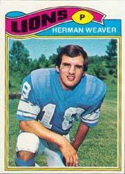1977 Topps #462 Herman Weaver