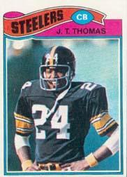 1977 Topps #501 J.T. Thomas